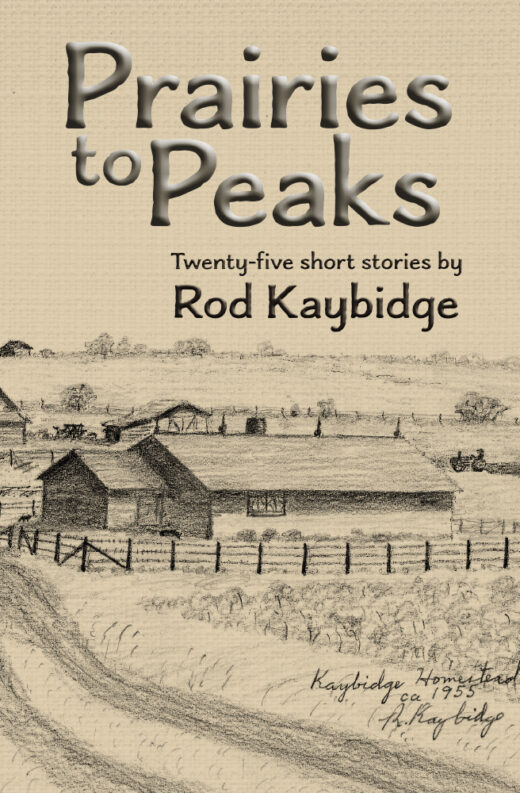 front cover of prairie to peaks by rod kaybridge