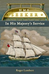 The front cover of HMS Seeker by Roger Lambert
