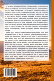 Back Cover of Amateurs on Safari by Norma Proudfoot