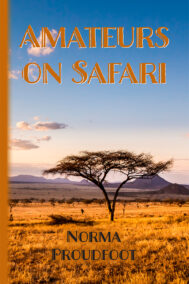front cover of amateurs on safari by norma proudfoot