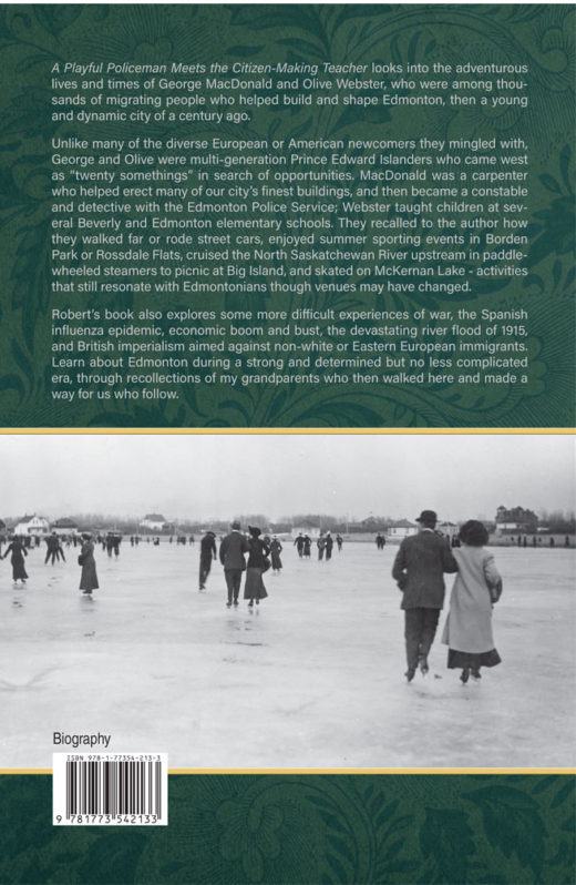 back cover of a playful policeman meets the citizen-making teacher by robert proudfoot