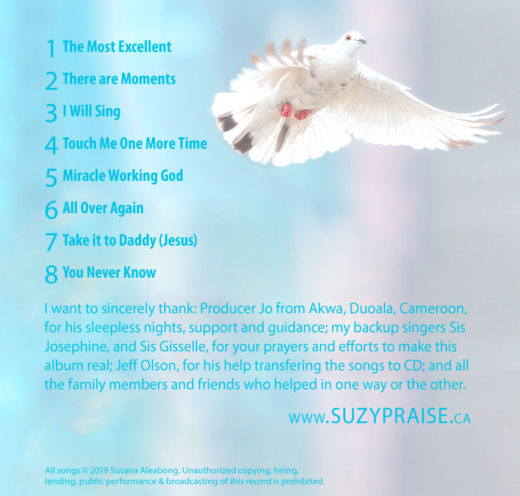 None Like My God Vol. 2 by Sis Susana Aleabong Back Cover