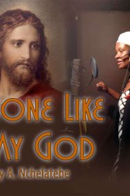 none like my god by