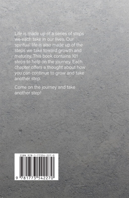 back cover of take a step by sid chalmers