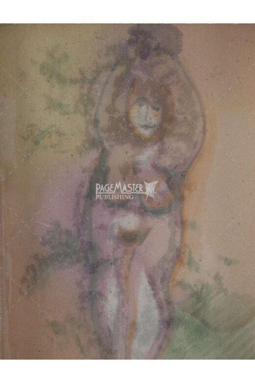 mother goddess by stephanie shochat art print