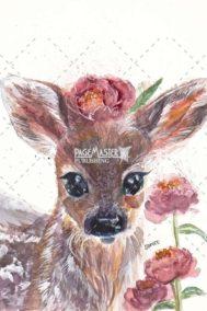 Deer First Spring by Shivee Gupta on PageMaster Publishing