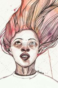 Girl With Pink Hair by Shivee Gupta on PageMaster Publishing