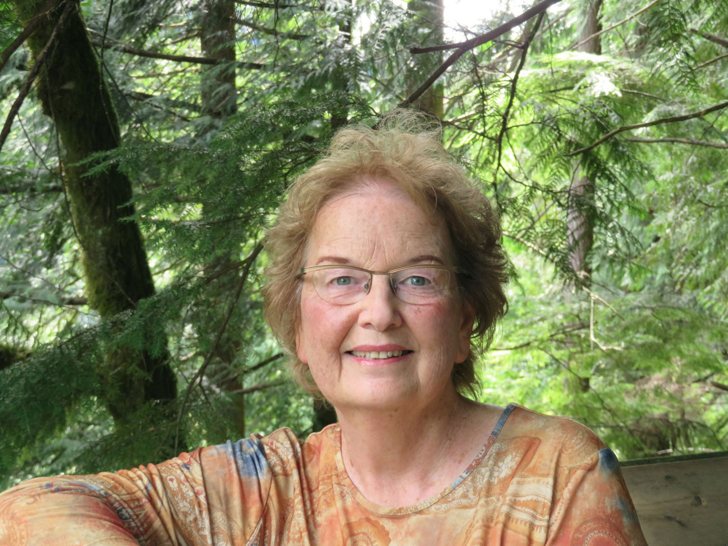 Author and artist Susan Milner