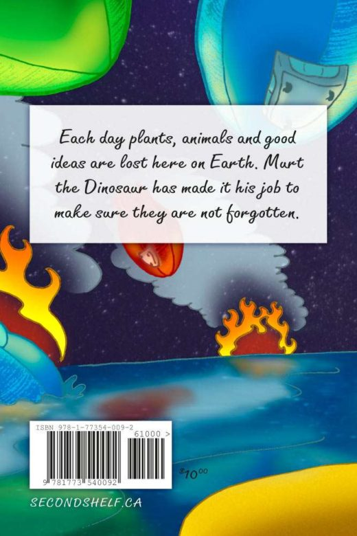 Dinosaur Murt Back Cover