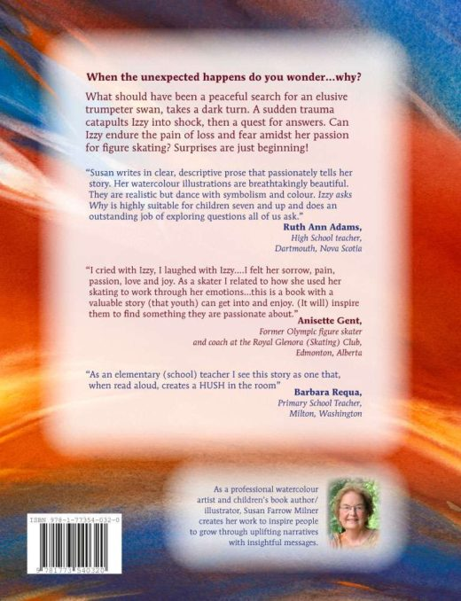 izzy asks why by susan milner back cover
