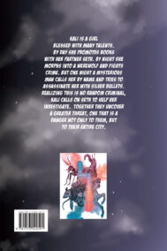 Back Cover of Kali the Werewolf by Sean McAnulty