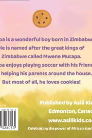Mutapa and His Cookies Back Cover