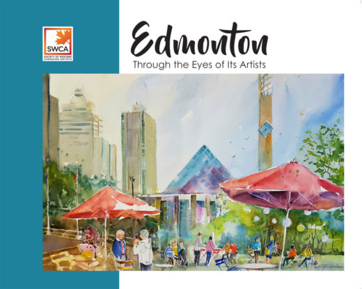 front cover of edmonton through the eyes of its artists by swca