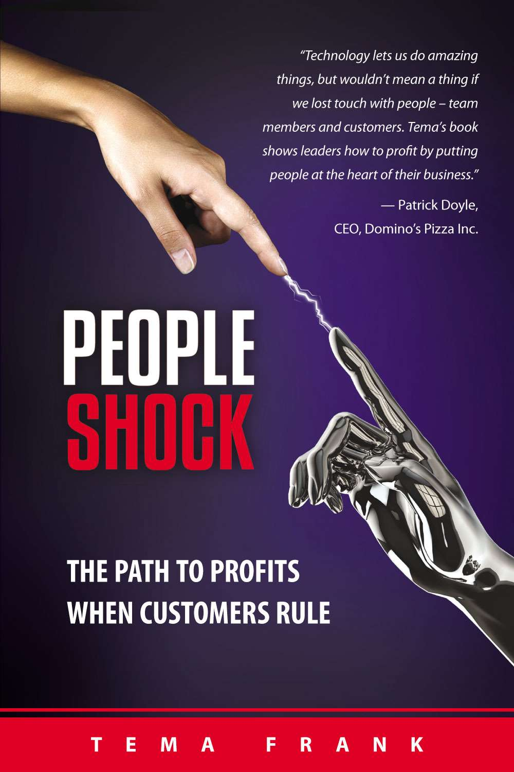 The front cover of PeopleShock, by Tema Frank