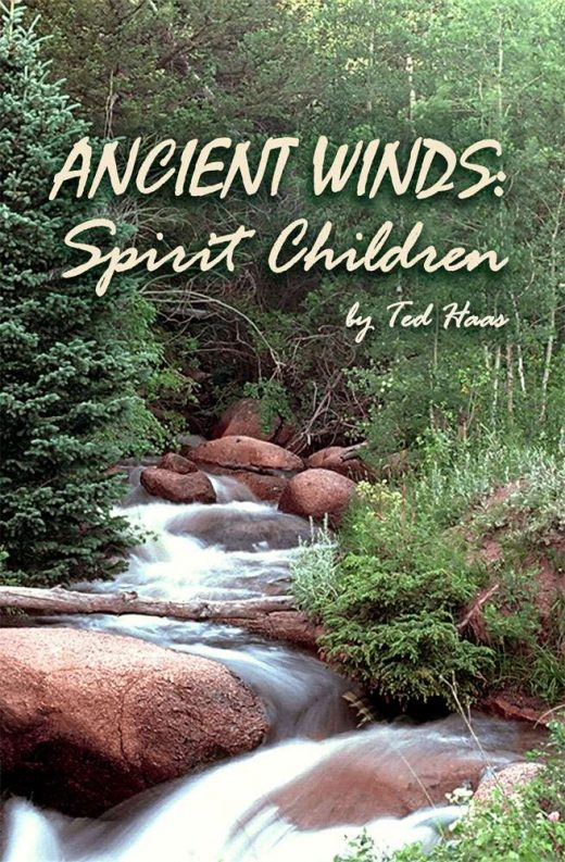 Front Cover of Ancient Winds: Spirit Children by Ted Haas