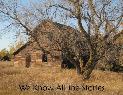 The front cover of We Know All the Stories, a Calendar by Blue Turtle Books