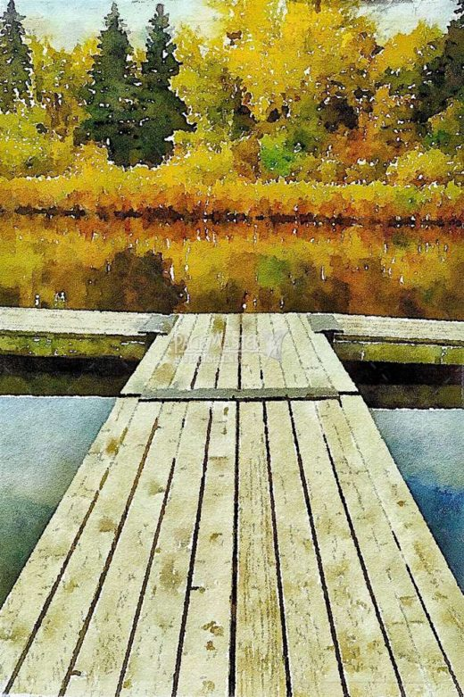 Autumn At The Lake by Terry Wilton on PageMaster Publishing