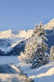 Winter Lake Louise by Terry Wilton on PageMaster Publishing