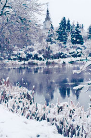 Winter Mirror Lake by Terry Wilton on PageMaster Publishing