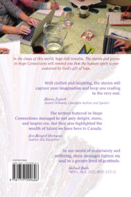 Back Cover of Hope Connections by Writers' Café