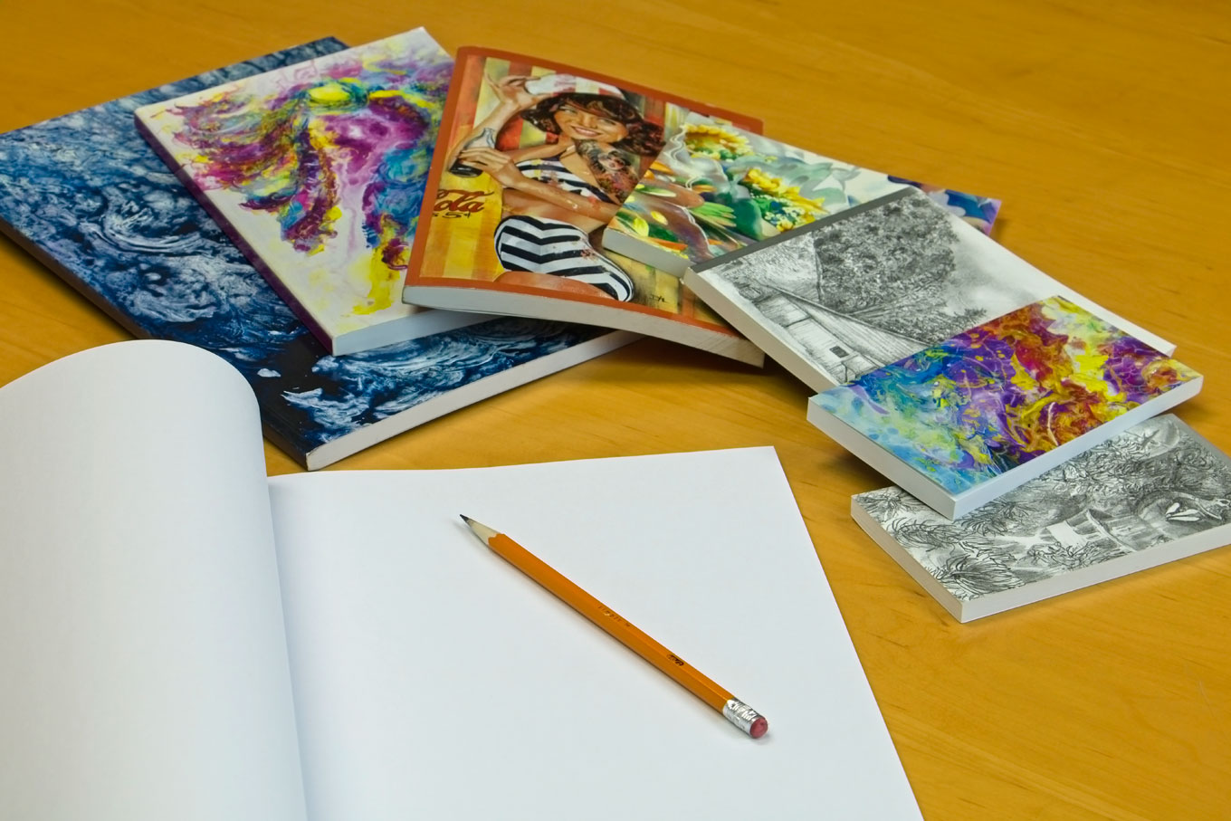 artwork notebooks