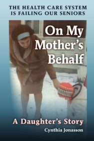 The front cover of On My Mother's Behalf.