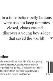 written and illustrated by Daniel Maisonneuve. Features an open belly zipper.
