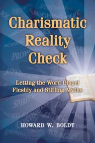 The front cover of Charismatic Reality Check