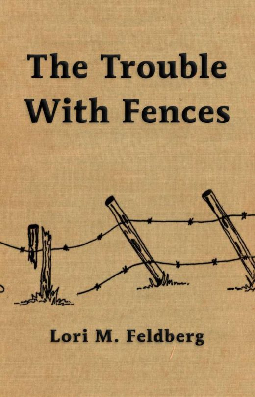 The front cover of The Trouble With Fences