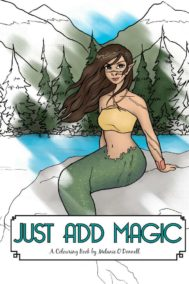 The front cover of Just Add Magic