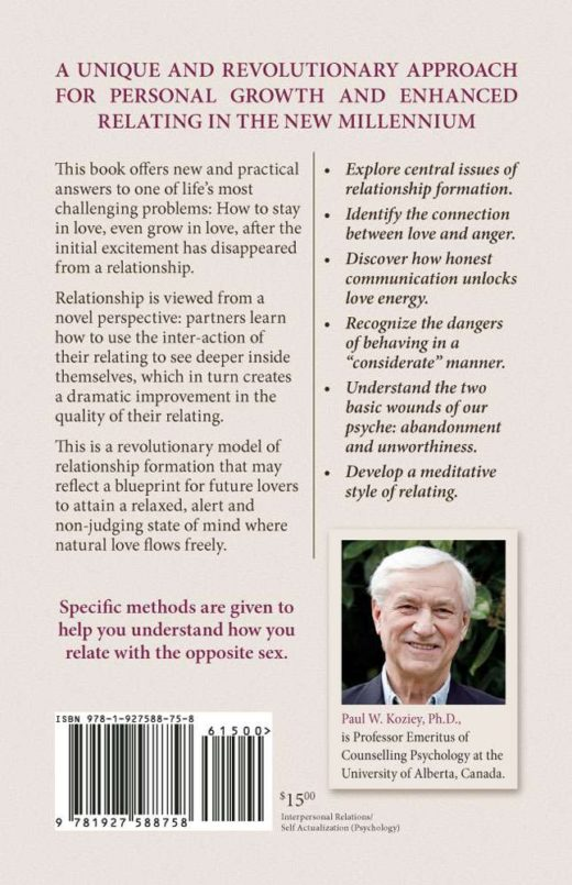 """The back cover of """"How to Grow in Love"""" by Paul Koziey"""