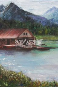 Maligne Boathouse by Karen Loranger