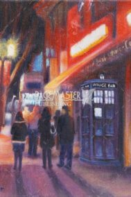 Tardis on Whyte by Karen Loranger
