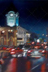Whyte Rain by Karen Loranger